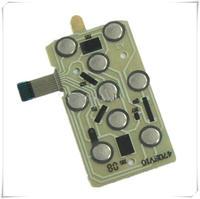 Qualidade Superior NOVO Teclado Teclado Placa Botão Chave Flex Cable Fita Board para Nikon Coolpix S2500
