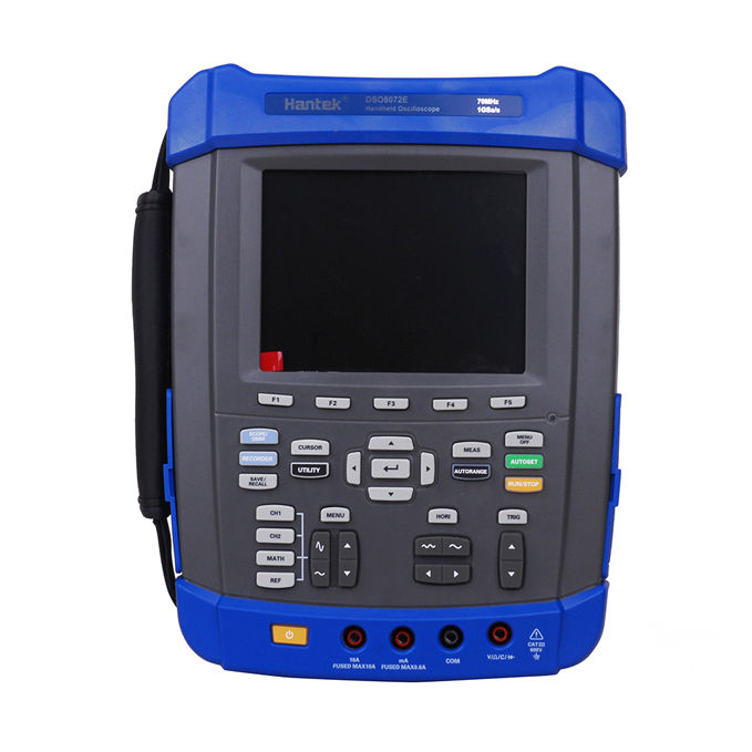 Hantek DSO8072E 70MHz 2CH 1GS/s Oscilloscope/Recorder/DMM/ Spectrum Analyzer/Frequency hantek idso1070a 2ch 70mhz bandwidth digital oscilloscope support iphone ipad android windows oscilloscope wifi communication