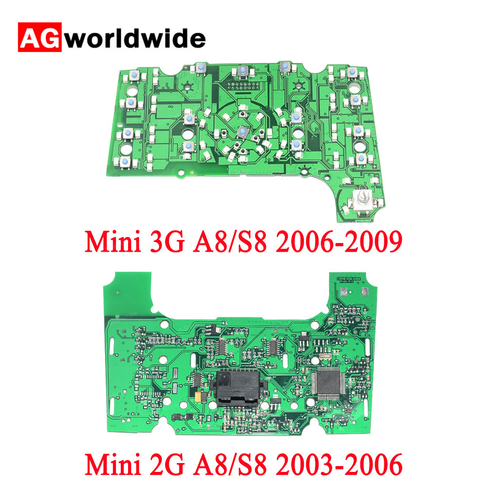2G 3G For Audi A8 S8 2003 2009 MMI Multimedia Interface Control Panel Circuit Board PVC