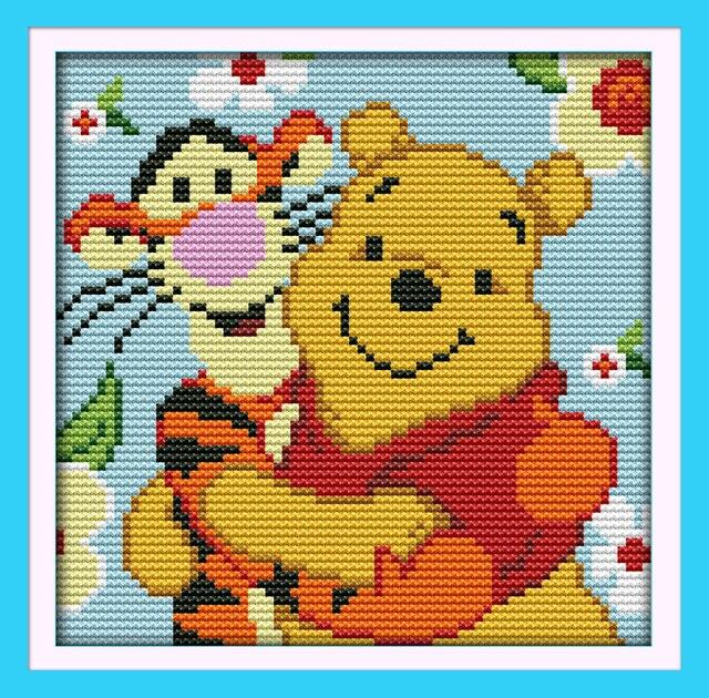 Tigger Animal Cross Stitch Patterns Free Winnie The Pooh And Sunny