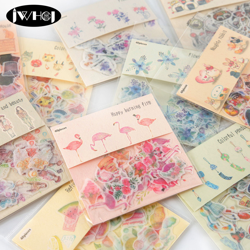 Office Adhesive Tape Capable Forest Lucky Unicorn Flamingo Dancing Gilding Washi Tape Adhesive Tape Diy Scrapbooking Sticker Label Craft Masking Tape