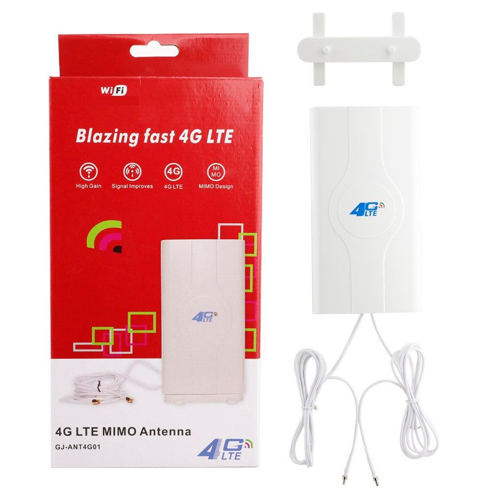 Antenne Mobile d'antenne 700 ~ 2600mhz 88dbi 3g 4g Lte 2 * Sma/2 * Crc9/2 * Ts9 connecteur mâle Booster antenne panneau Mimo
