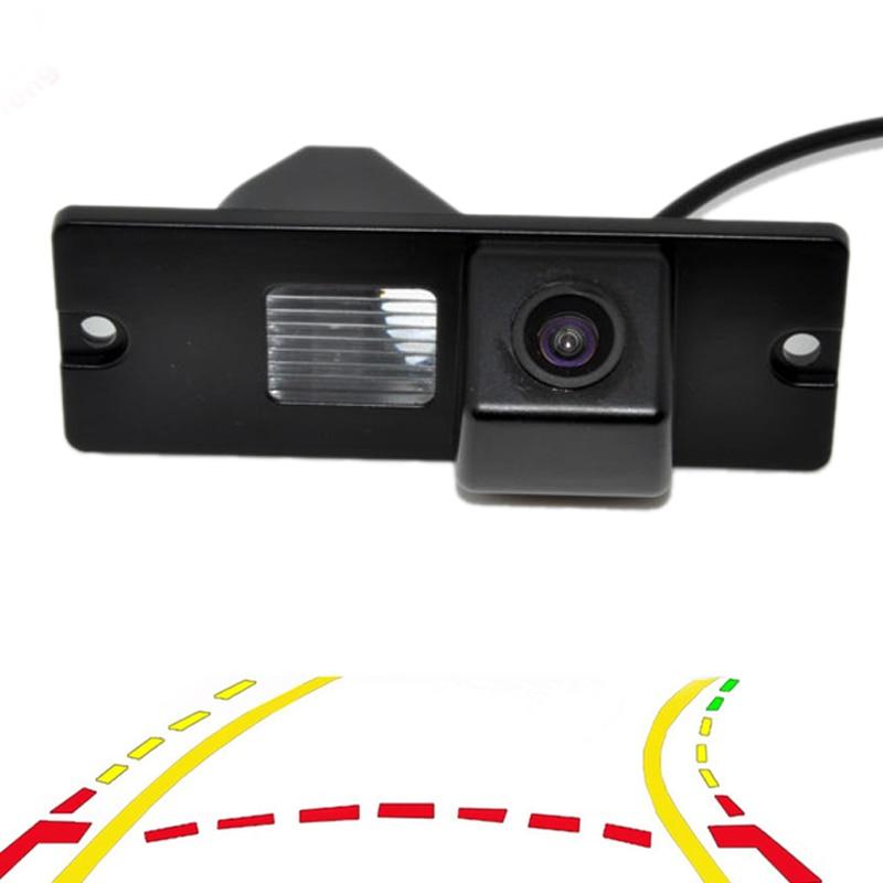 New Parking Assistance Intelligent Dynamic Trajectory Tracks Car Rear View Vehicle Camera For Mitsubishi Pajero V3 V93