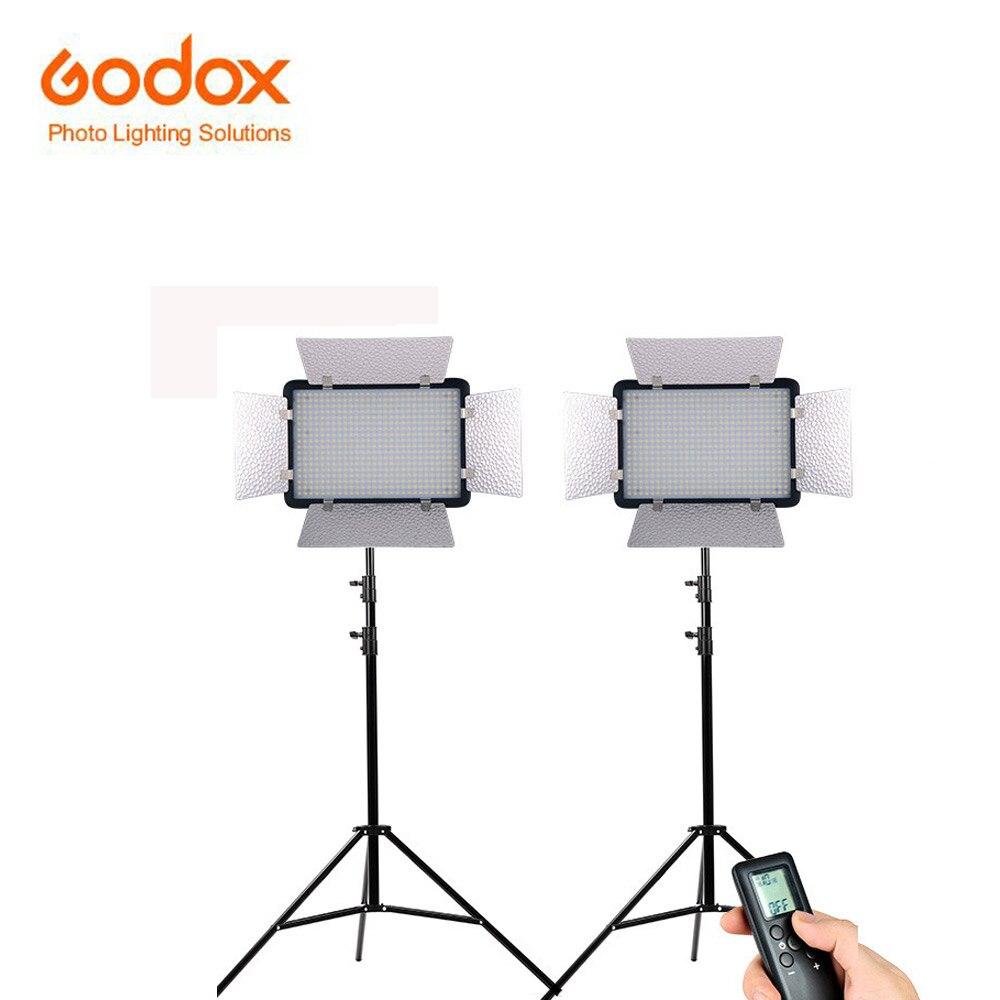 Godox LED500LRW white version LED Studio Video Photographic Lamp yellow filter Remote Controller for Camera DV Camcorder сasio lrw 200h 1b
