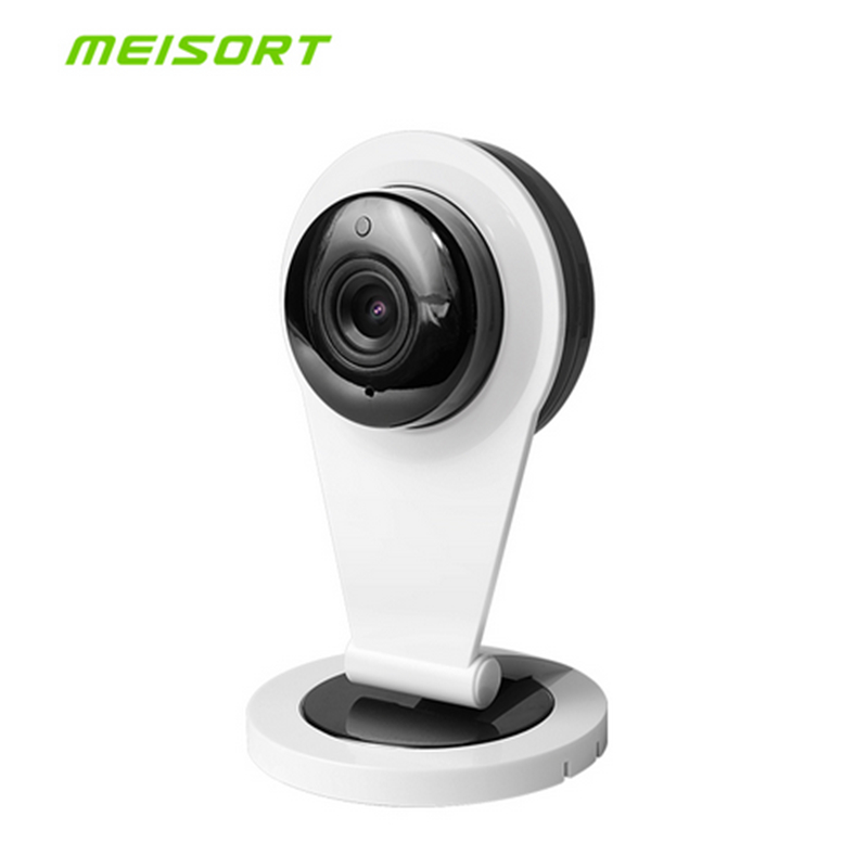 Meisort Home Security Wifi Mini IP Camera 720P Smart P2P Baby Monitor Two Way Audio Wireless Security CCTV Camera Night Vision fghgf 720p wireless ip security camera baby pet video monitor home security system with pan and tilt two way audio night vision