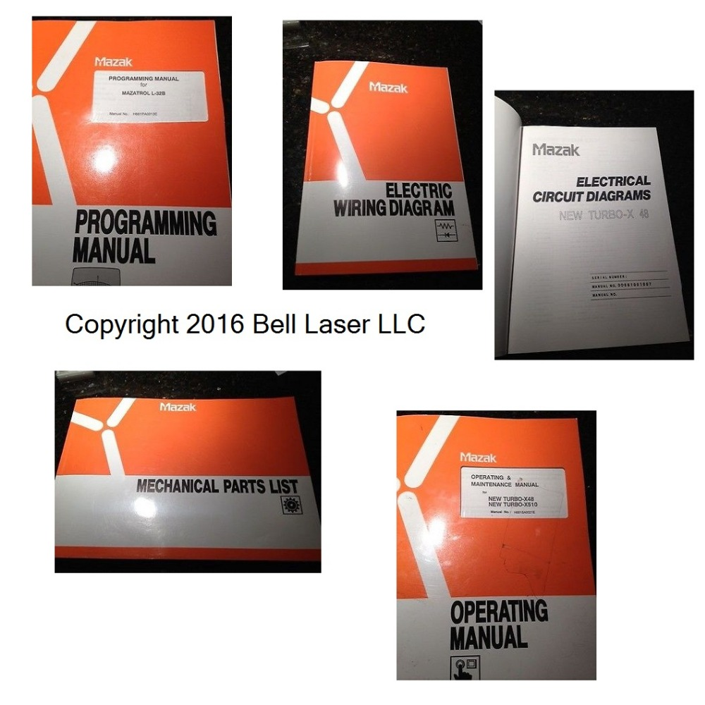 USED Mazak Turbo X 48 CNC CO2 LASER Manuals with Programming manual for  Mazatrol-in Woodworking Machinery Parts from Tools on Aliexpress.com |  Alibaba Group