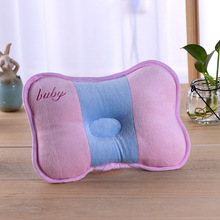 Best Baby 2017 NEW New Baby 100% Cotton Colorful Shaping Pillow Support Kids Shaped Headrest To Prevent Flat Head