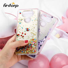 Dynamic Liquid Quicksand Cases For LG G7 ThinQ G6 Q6 Case Mirror Bling Gitter Covers for Lenovo K6 Power C2 A1010 Bumper Funda