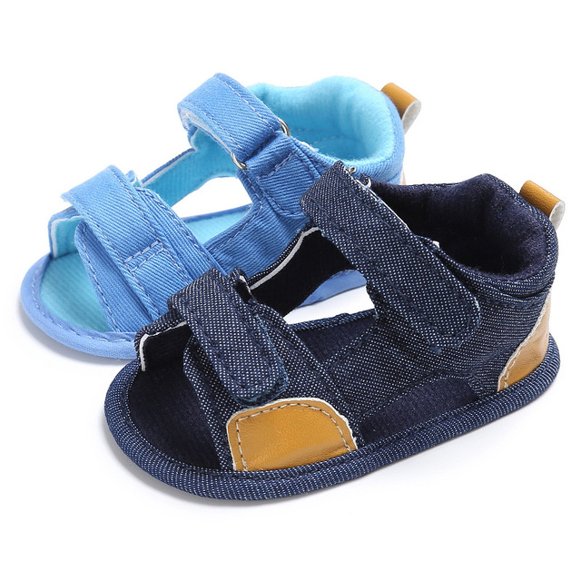 544f627c8cb5 Anti-Slip Kids Boys Summer Shoes Soft Soled Newborn Infant Toddler Baby  Shoes Summer First Walkers 3 Size 2 Colors