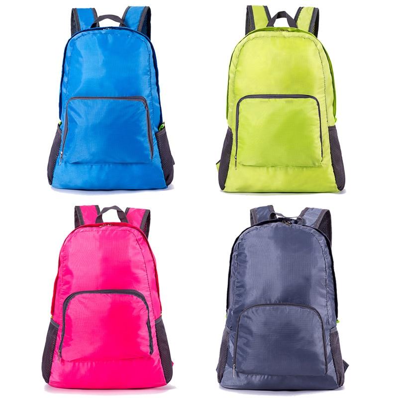 Daffdoil Backpack Women Waterproof Backpack Men Vintage Polyester Fold Portable H15 in Backpacks from Luggage Bags