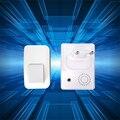 433 MHz Cinética campainha sem fio que não precisa de bateria. AC240V campainha da porta de casa com 38 toques. à prova d' água e de alta qualidade sino