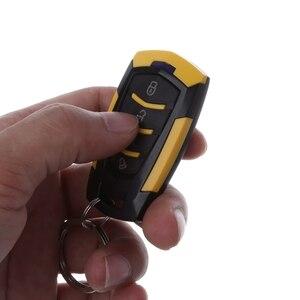 Image 5 - مجموعة نظام دخول السيارة بدون مفتاح 12 فولت إنذار تلقائي للسيارات عن بعد قفل الباب المركزي