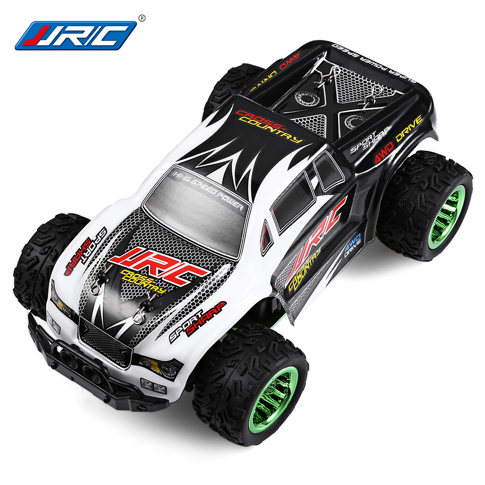 JJRC Q35 1:26 Mini Brushed Off-Road RC Monster Truck RTR Racing Car Remote Control Climbing Car Toys Chassis LCD Transmitter jjrc h5p transmitter