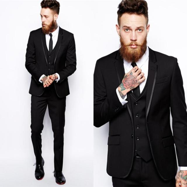 Aliexpress.com : Buy Mens Suits Online Tailor Groom Custom Made ...
