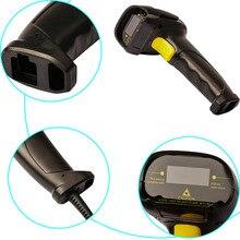 Высокая производительность двунаправленный USB кабель сканер штрихкодов Ручной сканирования штрих-кодов пистолет для бара супермаркет магазин