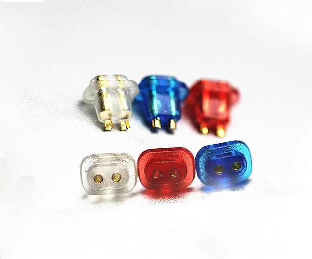 2 Pin plug Jack for UE TF10 TF15 SF3 SF5 headphone DIY Connector for Audio Cables 4pcs free shipping