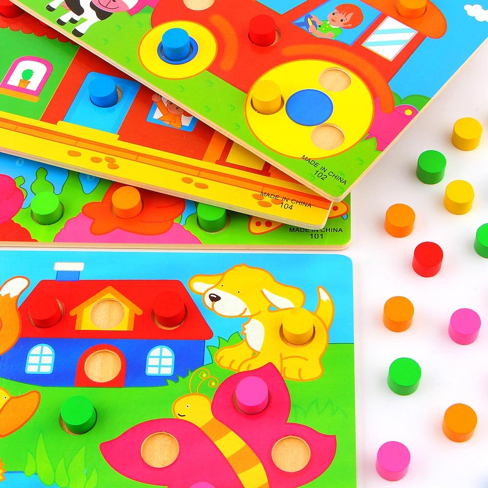 Color Cognition Board Montessori балаларға арналған - Білім беру және оқыту - фото 2