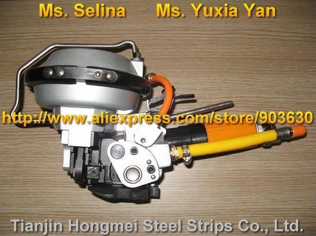 A480 / KZ-19 Combinazione pneumatica Reggiatrice in acciaio, - Utensili elettrici - Fotografia 3