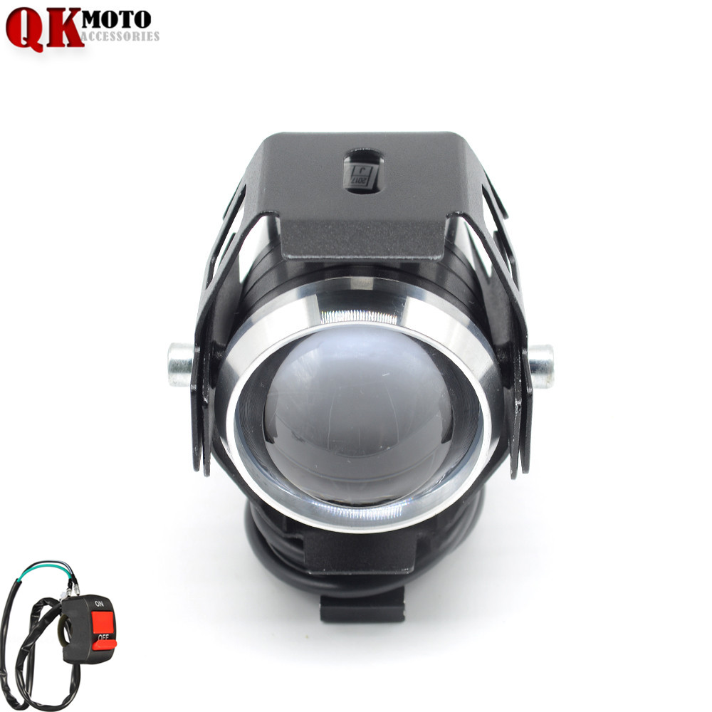 Motorcycle <font><b>LED</b></font> <font><b>Headlight</b></font> Driving Spot Head Lamp Fog Light for <font><b>Yamaha</b></font> XJ6 S Diversion YZF <font><b>R1</b></font> R6 FZ8 FZ1N FZ1 FAZER image