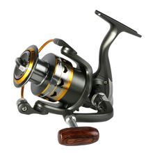 2017 hot metal Fishing Reel 11BB 2000 – 6000 series spinning reel for feeder fishing Wood handle fishing reels pesca