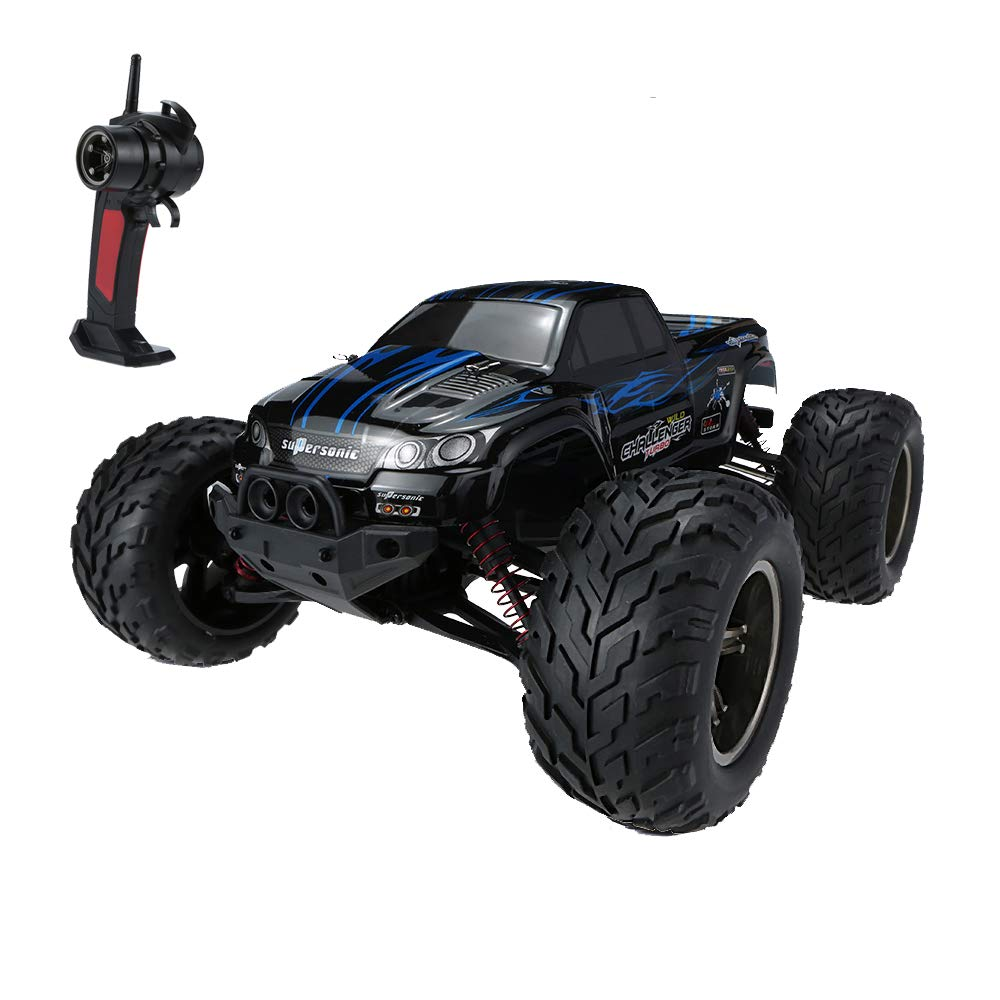 GPTOYS S911 RC Car 1:12 Scale 2.4Ghz 2WD Supersonic Explorer Remote Control Car Off Road Vehicle 42km/h for Kids & Adults RTR