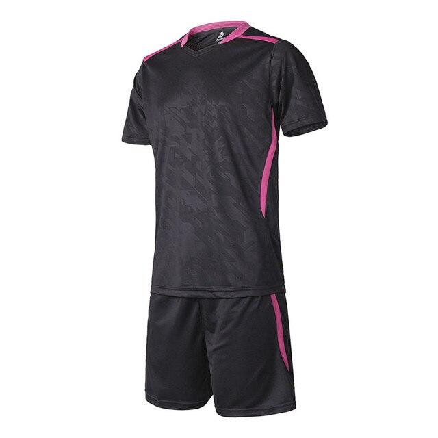 9c0cf7aa3 16 17 New Survetement Football Training Suit Soccer Jerseys Set Maillot De  Foot Futbol Shirt Short Tracksuit Blank DIY Customize