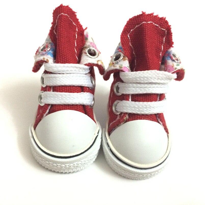 5CM BJD Doll Skor Causal Snickers Skor till Dockor, Mini Toy Stövlar - Dockor och tillbehör - Foto 3