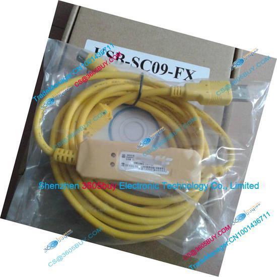 Cabo de download cabo de dados cabo de programação USB-SC09-FX para a série FX Novo cabo com driver de CD e caixa