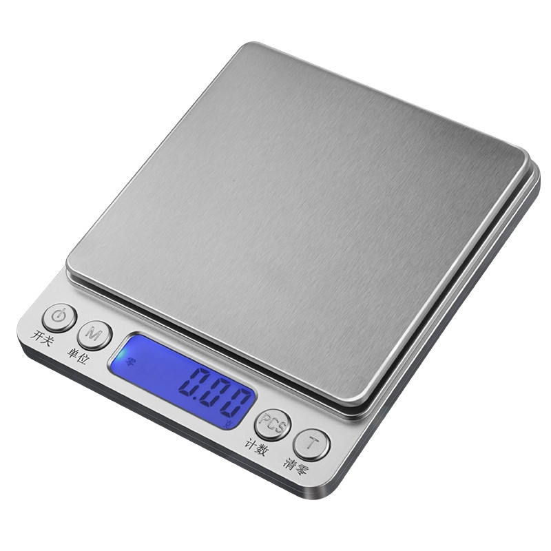 500g /0.01g Portable herbal tea digital scales Precision Balance Quality Electronic Scales Jewelry pesas weighting scales 100g 0 1g lab balance pallet balance plate rack scales mechanical scales students scales for pharmaceuticals with weight tweezer