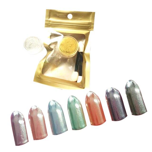 Venta caliente 5g Efecto Espejo En Polvo Para Uñas Brillante Magia ...