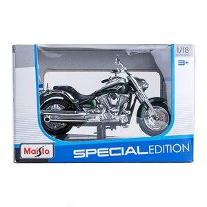 Image 5 - Maisto 1:18 오토바이 모델 가와사키 벌컨 2000 다이 캐스트 플라스틱 모토 미니어처 레이스 장난감 선물 컬렉션