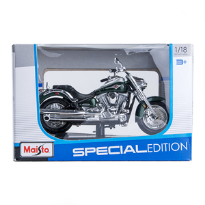 Image 5 - Maisto 1:18 Motorcycle Models Kawasaki Vulcan 2000 Diecast Plastic Moto Miniature Race Toy For Gift Collection