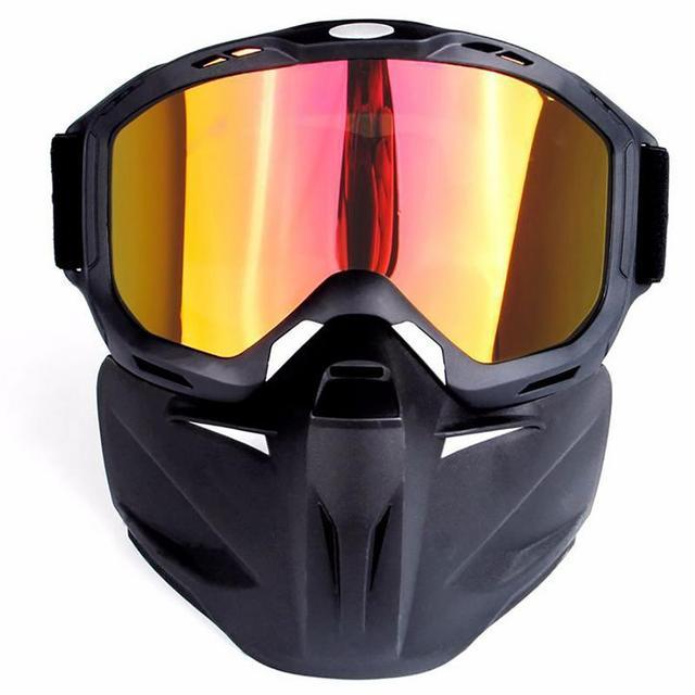 837c485e84c3c Men Women Ski Snowboard Snowmobile Goggles Mask Snow Winter Skiing Ski  Glasses Motorcycle Sunglasses Full Face