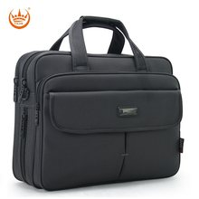 High Quality Men's Briefcase Famous Brand Oxford Business Large Capacity 16 Inch Handbags Laptop Bag Travel Shoulder bags(China)