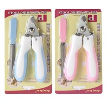 Useful Stainless Steel Nail Clipper Scissors Nail Toe Trimmer Grooming Tool for Pet Dog Cat