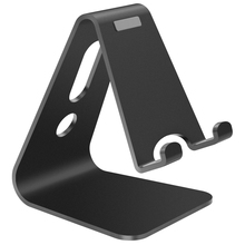 Black 3.5 inch To 8 inch Aluminium Alloy Stand Desk Holder For iPhone iPad Tablets Stand Mount Universal Charging Cable Stand stylish mount holder stand support for ipad ipad 2 the new ipad other tablets blue black
