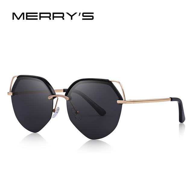 Women Luxury Cat Eye Polarized Sunglasses