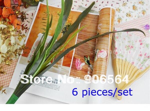 Бесплатная доставка Оптовая DIY каттлей материал искусственные листья на нейлоновый чулок цветочных аксессуаров 6 шт./компл. (20 компл./лот)