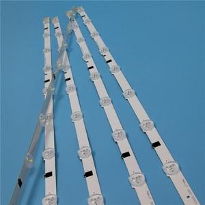 Image 2 - 9 Lamps LED Backlight Strip For Samsung UA32F5000AR UA32F5100AR UA32F5300AR UA32F5500AR UA32F6100AR Bars Kit Television LED Band