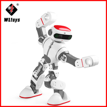 origial WLtoys F8 Dobi Intelligent Humanoid RC  Robot Voice Control RC Robot with Dance/Paint/Yoga/Tell Stories RC Toy Model цены
