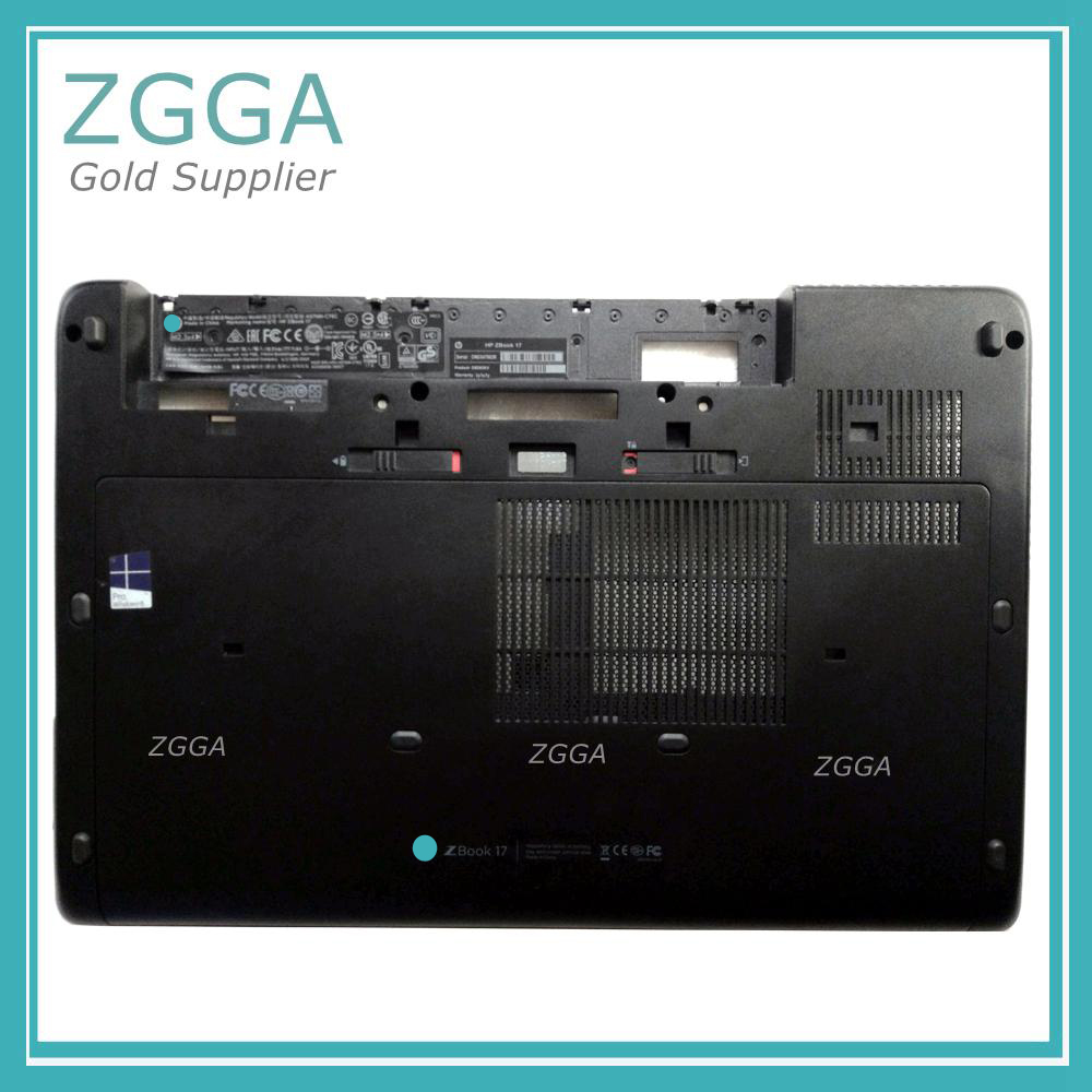 New Laptop CPU Base Enclosure For HP ZBOOK 17 ZBOOK17 Original Chassis Bottom Cover 733641-001 With All Cover Doors Latches new bottom base box for dell inspiron 15 5000 5564 5565 5567 base cn t7j6n t7j6n