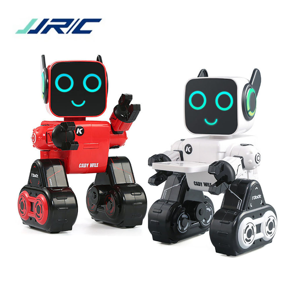 В наличии JJRC R4 RC Интеллектуальный робот шелк-кади Wile жест Remotol Управление фигурку робота игрушки интерактивные игрушки VS R2 R3