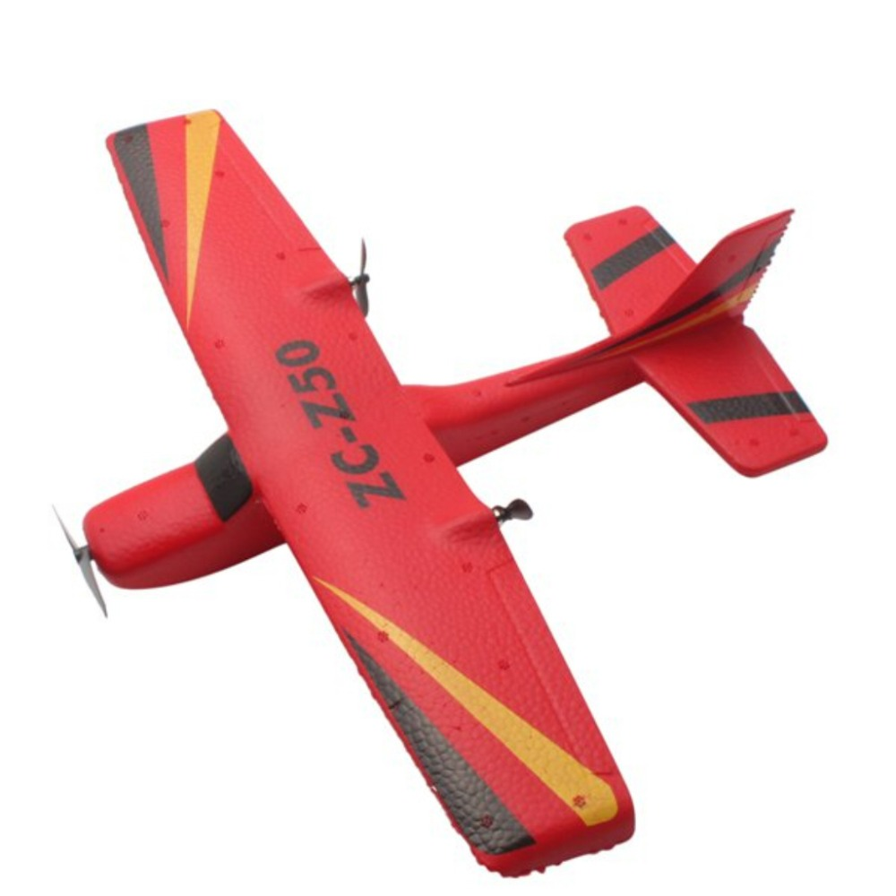 Z50 35cm RC Airplane EPP Foam Outdoor Launch Glider <font><b>Plane</b></font> 2.4GHz 2 channel 100M Remote Control Kids Gift Toy For christmas image