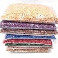 SS10 98000pcs/bag SS16 49000pcs/bag ceramics strass Nail art glitter crystal Rhinestones FOR clothes garment accessaries