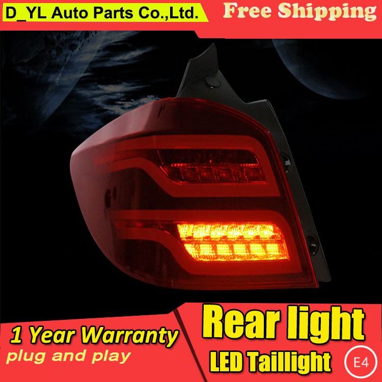 D-YL Car Styling Accessories for Chevrolet Cruze Hatchback LED Taillights  Cruze Tail Light Rear Lamp DRL+Brake+Park+Signal