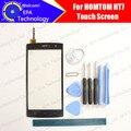 HOMTOM HT7 Tela de Toque Digitador Garantia 100% Original Digitador Da Tela de Toque Do Painel de Vidro Para HT7 Telefone + ferramentas + Adesivo