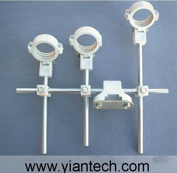 """Lot 2 of Dish Sets 30/""""x34/"""" Oval Ku Band Satellite Dish Antenna w// Single LNB"""