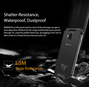 "Image 4 - Blackview BV9600 Pro IP68 Waterproof Mobile Helio P70 Octa core 6GB RAM 128GB ROM 6.21"" AMOLED Android 9.0 Rugged Smartphone 4G"