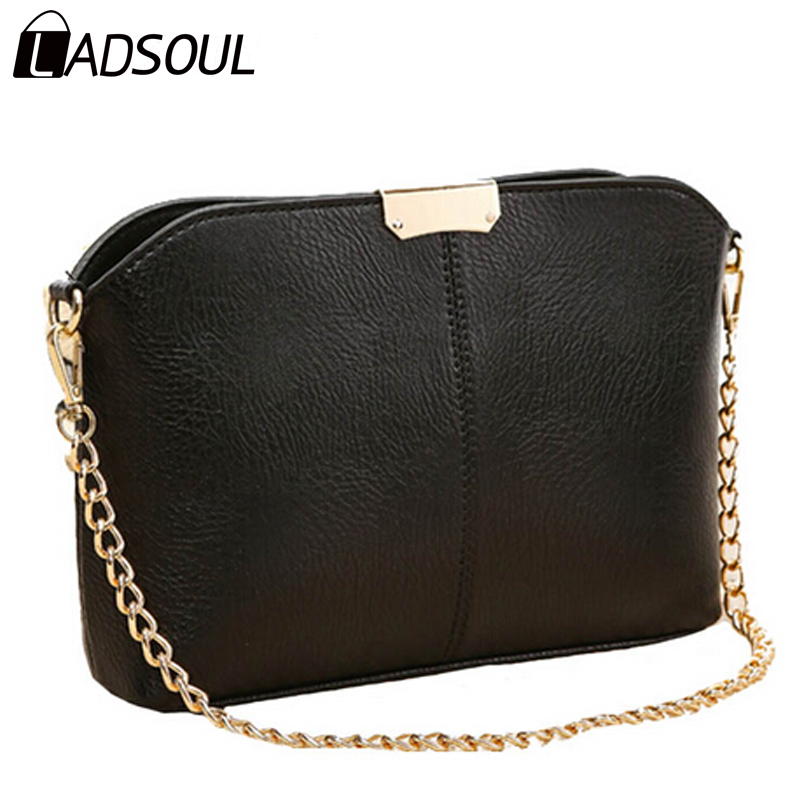 Ladsoul new 2017 shoulder bags women handbags Chains Pouch clutch evening women bag Women messenger Bags hl7317/g