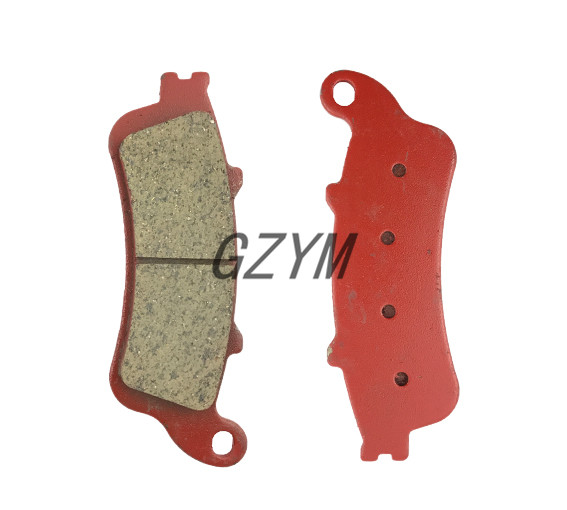 Motorcycle Ceramic Rear Brake Pads For Honda NT700 2006-2013 VFR800 2006-2013 XL1000 2004-2011 CBR1100XX 1997-2008 motorcycle brake pads ceramic composite for triumph 800 tiger 2011 2014 front rear oem new high quality zpmoto